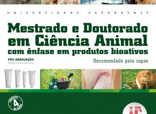 Projeto Acompanhamento do Egresso do Programa de Pós-graduação em Ciência Animal com ênfase em Produtos Bioativos da Unipar